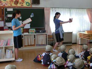 上中里幼稚園の授業風景